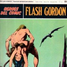 Cómics: BURU LAN COMICS, HÉROES DEL COMIC, FLASH GORDON, LOS HOMBRES SELVÁTICOS. Lote 31625691