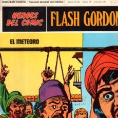 Cómics: BURU LAN COMICS, HÉROES DEL COMIC, FLASH GORDON, EL METEORO. Lote 31625700