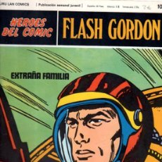 Cómics: BURU LAN COMICS, HÉROES DEL COMIC, FLASH GORDON, EXTRAÑA FAMILIA. Lote 31625709