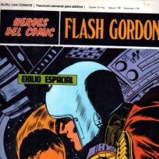 Cómics: BURU LAN COMICS, HÉROES DEL COMIC, FLASH GORDON, EXILIO ESPACIAL. Lote 31625729