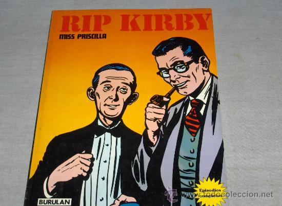 Cómics: RIP KIRBY Nº 1 BURULAN BURU LAN 1974. EL CASO FARADAY. REGALO Nº 3 MISS PRISCILLA. - Foto 3 - 31830144