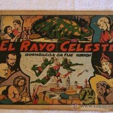 Cómics: FLAS GORDON EDICIONES HISPANO AMERICANA 1942 EL RAYO CELESTE. Lote 31960361
