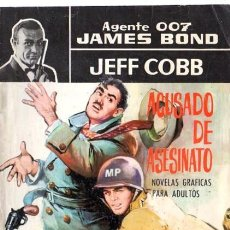 Cómics: AGENTE 007 JAMES BOND, JEFF COBB, ACUSADO DE ASESINATO, 19. Lote 31967538
