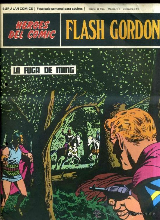FLASH GORDON Nº77 (Tebeos y Comics - Buru-Lan - Flash Gordon)