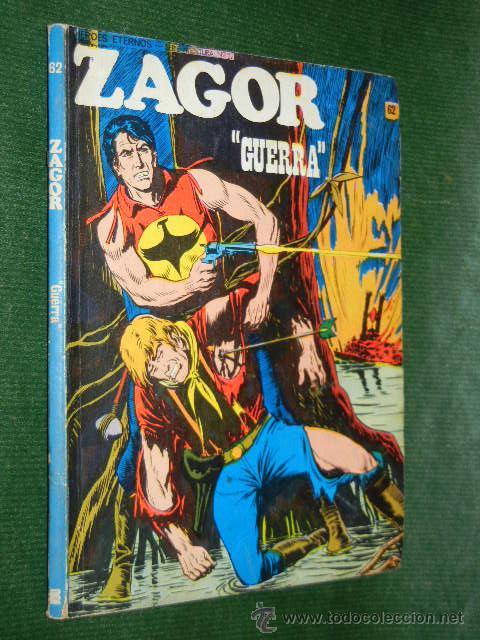 ZAGOR 62. - GUERRA. ED.BURU LAN, 1974 (Tebeos y Comics - Buru-Lan - Zagor)