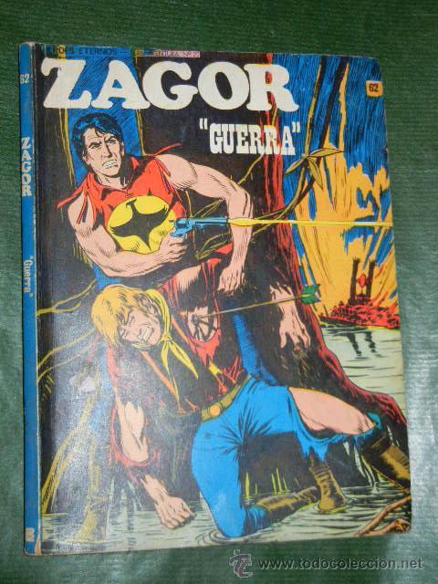 Cómics: ZAGOR 62. - GUERRA. ED.BURU LAN, 1974 - Foto 2 - 32093309