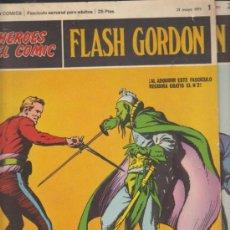 Cómics: FLASH GORDON. Nº 1 Y 2 . BURU LAN 1971.. Lote 32278418
