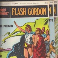 Cómics: FLASH GORDON. Nº 04,05 Y 010 . BURU LAN 1971.. Lote 32278546