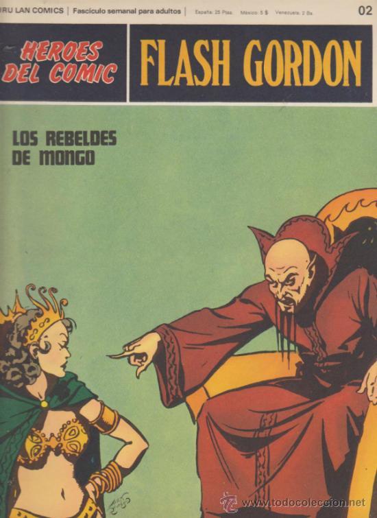 FLASH GORDON. Nº 02 . BURU LAN 1971. (Tebeos y Comics - Buru-Lan - Flash Gordon)