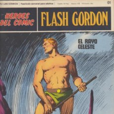 Cómics: FLASH GORDON. LOTE DE 18 EJEMPLARES ENTRE EL 01 Y 020. BURU LAN 1971.. Lote 32282225
