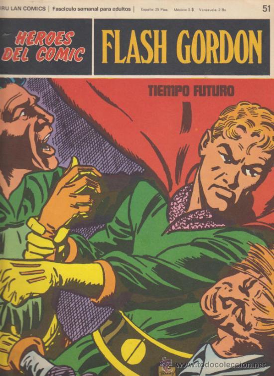 FLASH GORDON. Nº 51 . BURU LAN 1971. (Tebeos y Comics - Buru-Lan - Flash Gordon)