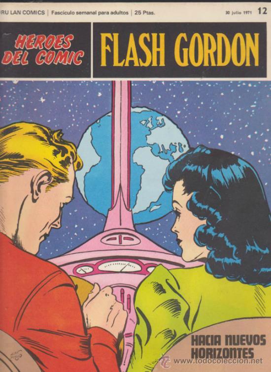 FLASH GORDON. LOTE DE 12 EJEMPLARES ENTRE EL 12 Y 33. BURU LAN 1971. (Tebeos y Comics - Buru-Lan - Flash Gordon)
