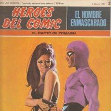 Cómics: EL HOMBRE ENMASCARADO.BURU LAN 1971.LOTE DE 5 EJEMPLARES:2,10,11,12, 15. Lote 32282878