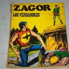 Cómics: ZAGOR Nº 54. BURU LAN 1973. 25 PTS. LOS VENGADORES. DIFÍCIL!!!!!!!!! . Lote 32436844