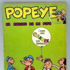 Cómics: POPEYE EL MARINO DE LA PIPA Nº 2 ED BURU LAN BURULAN 1970. Lote 32460248