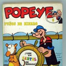 Cómics: POPEYE PUÑOS DE HIERRO Nº 5 ED BURU LAN BURULAN 1970. Lote 32460404
