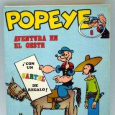 Cómics: POPEYE AVENTURA EN EL OESTE Nº 6 ED BURU LAN BURULAN 1971. Lote 35528986