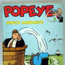 Cómics: POPEYE POPEYE ALMIRANTE Nº 8 ED BURU LAN BURULAN 1971. Lote 32460624