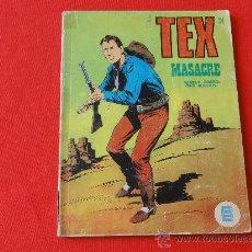 Cómics: TEX Nº 24 BURULAN. MASACRE. Lote 32498254