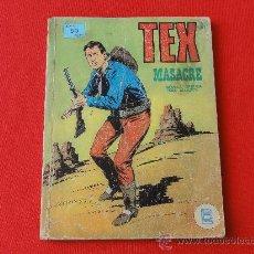 Cómics: TEX Nº 24 BURULAN. MASACRE. Lote 32498315