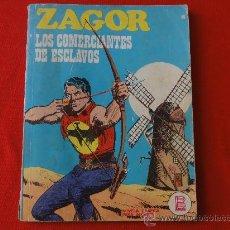 Cómics: ZAGOR Nº 19 BURULAN. LOS COMERCIANTES DE ESCLAVOS. Lote 32547870