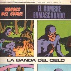 Cómics: EL HOMBRE ENMASCARADO. HEROES DEL COMIC. BURULAN COMICS. LA BANDA DEL CIELO. Nº 09. . Lote 32554052