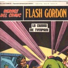 Cómics: FLASH GORDON. HEROES DEL COMIC. BURULAN COMICS. LA CIUDAD DE TYMPANI. Nº 70. . Lote 32554266