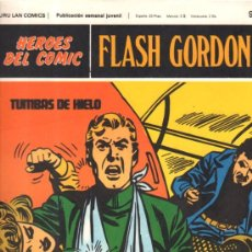 Cómics: FLASH GORDON. HEROES DEL COMIC. BURULAN COMICS. TUMBAS DE HIELO. Nº 98. . Lote 32554283