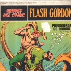 Cómics: FLASH GORDON. HEROES DEL COMIC. BURULAN COMICS. PRISIONEROS DE ONDINA. Nº 011. . Lote 32554398