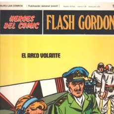 Cómics: FLASH GORDON. HEROES DEL COMIC. BURULAN COMICS. EL ARCO VOLANTE. Nº 102. . Lote 32554465