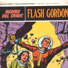 Cómics: FLASH GORDON. HEROES DEL COMIC. BURULAN COMICS. PELIGRO EN LA LUNA. Nº 63. . Lote 32554483
