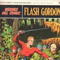 Cómics: FLASH GORDON. HEROES DEL COMIC. BURULAN COMICS. LA CAPTURA DE MING. Nº 020. . Lote 32554560