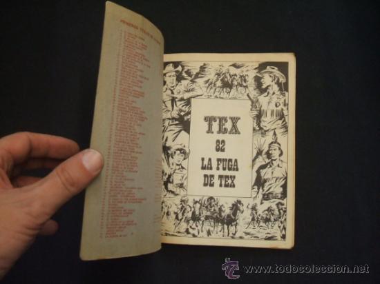 Cómics: TEX - Nº 82 - LA FUGA DE TEX - BURU LAN EDICIONES - - Foto 2 - 32569969