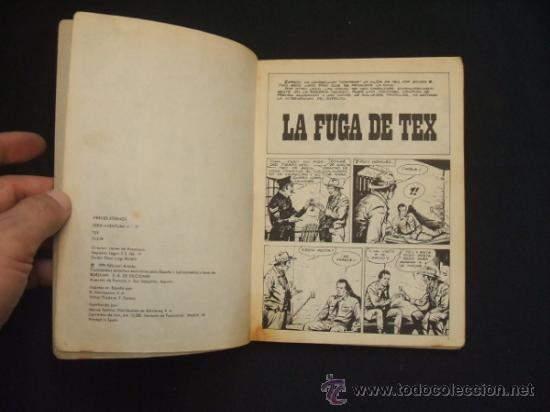 Cómics: TEX - Nº 82 - LA FUGA DE TEX - BURU LAN EDICIONES - - Foto 3 - 32569969