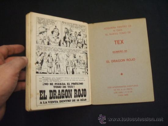 Cómics: TEX - Nº 82 - LA FUGA DE TEX - BURU LAN EDICIONES - - Foto 10 - 32569969