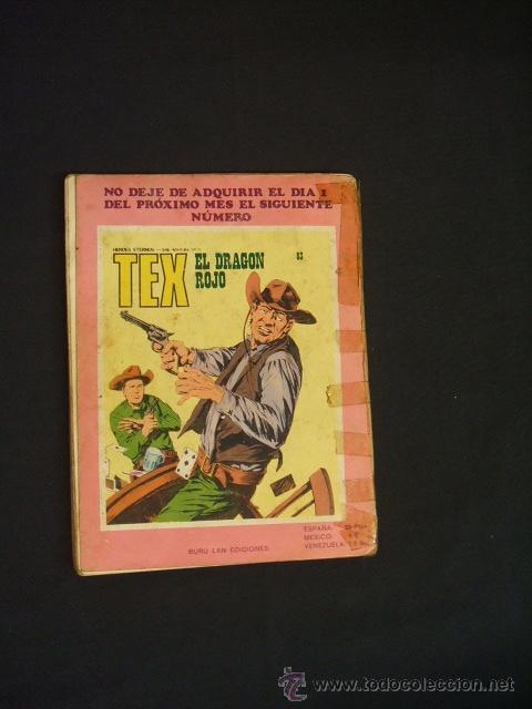 Cómics: TEX - Nº 82 - LA FUGA DE TEX - BURU LAN EDICIONES - - Foto 11 - 32569969
