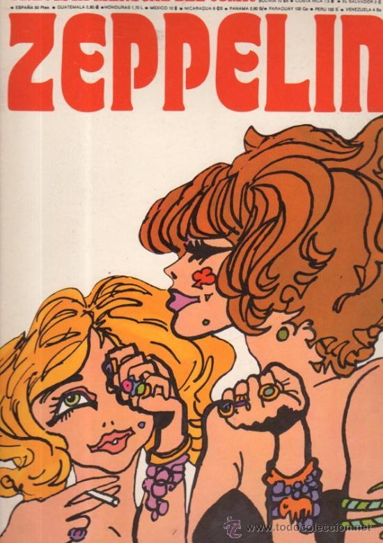 REVISTA ZEPPELIN. COMIC. BURU LAN. 1973. AÑO I, Nº 1. . (Tebeos y Comics - Buru-Lan - Otros)