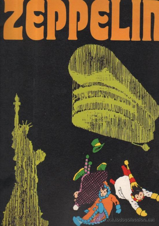 REVISTA ZEPPELIN. COMIC. BURU LAN. 1973. AÑO I, Nº 2. . (Tebeos y Comics - Buru-Lan - Otros)