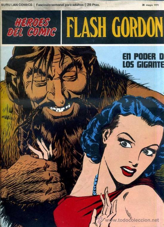 FLASH GORDON Nº3 (Tebeos y Comics - Buru-Lan - Flash Gordon)