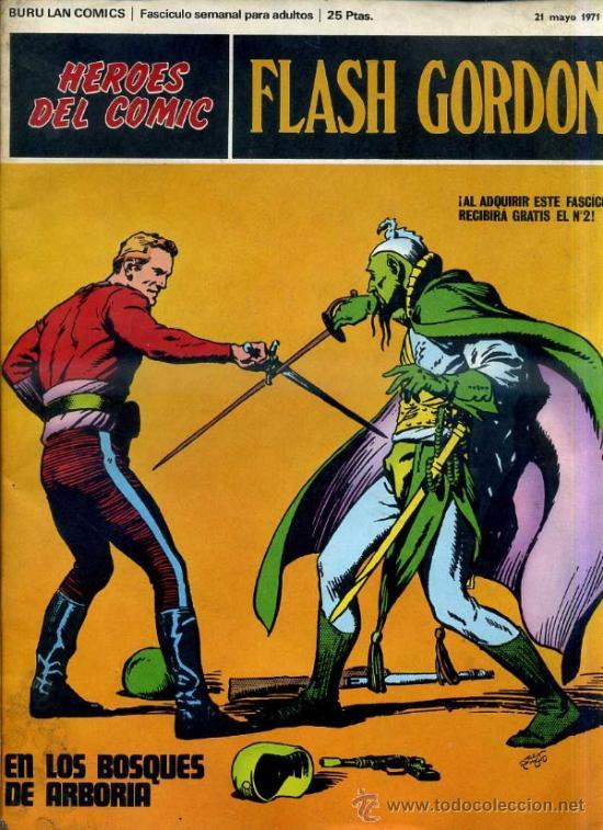 FLASH GORDON Nº1 (Tebeos y Comics - Buru-Lan - Flash Gordon)