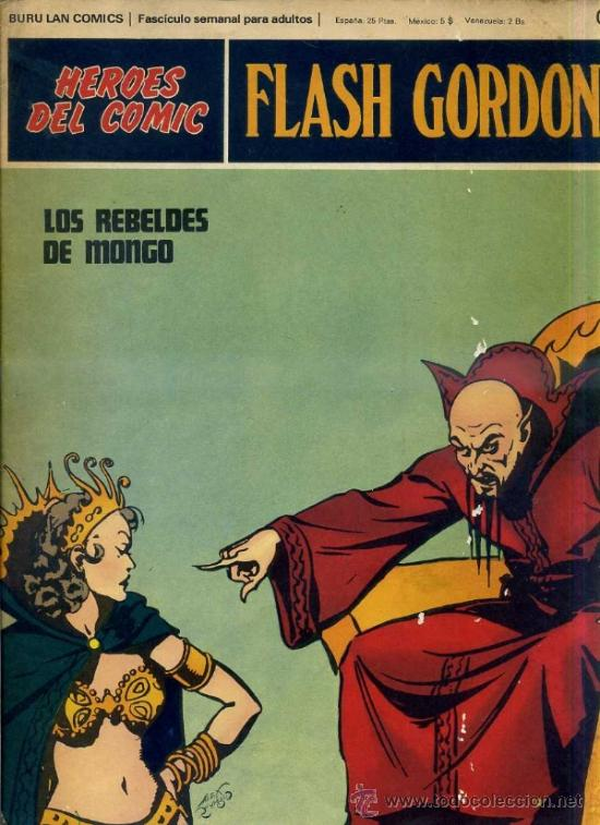 FLASH GORDON Nº02 (Tebeos y Comics - Buru-Lan - Flash Gordon)