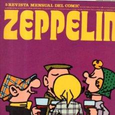 Cómics: ZEPPELIN, 5 REVISTA MENSUAL DEL COMIC, ANDY CAPP, NOVELA NEGRA, NEMO, MOMMA. Lote 32683780