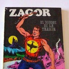 Cómics: ZAGOR Nº 1. EL BOSQUE DE LA TRAMPA. BURU LAN. 1972. EN. Lote 32919197