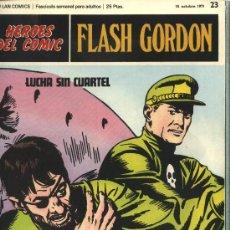 Cómics: FLASH GORDON - HEROES DEL COMIC, Nº: 23 - BURULAN EDICIONES 1971. Lote 32926242