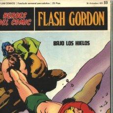 Cómics: FLASH GORDON - HEROES DEL COMIC, Nº: 33 - BURULAN EDICIONES 1971. Lote 32926295