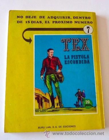 Cómics: Tex Nº 6. Guerrilla. Buru Lan. 1970. En - Foto 2 - 32938065