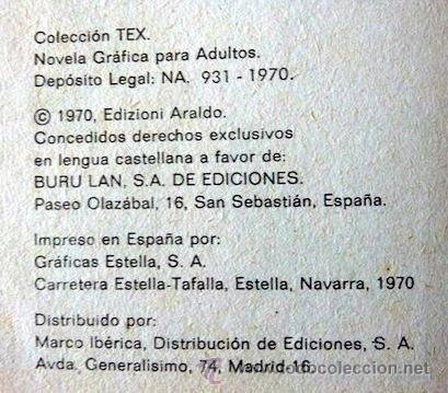 Cómics: Tex Nº 6. Guerrilla. Buru Lan. 1970. En - Foto 4 - 32938065