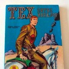 Cómics: TEX Nº 12. ENTRE NAVAJOS. BURU LAN. 1971. EN . Lote 32938241