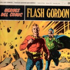 Cómics: TEBEO HÉROES DEL COMIC, 019, FLASH GORDON, BURU LAN COMICS, LA ISLA TENEBROSA. Lote 33071447