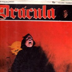 Cómics: TEBEO DRÁCULA, VOLUMEN 1, NUMBER 1, FREE POSTER INSIDE, NEW ENGLISH LIBRARY. Lote 33071474